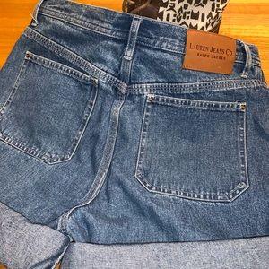 Vintage Ralph Lauren jean shorts size 6
